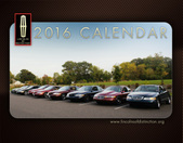 2016 Lincolns of Distinction Calendar