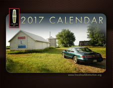 2017 Lincolns of Distinction Calendar