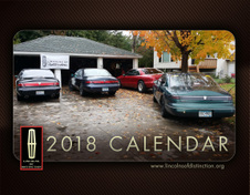 2018 Lincolns of Distinction Calendar