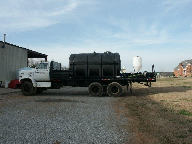 Viewing a thread - Flatbed sprayer tender truck
