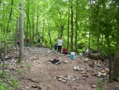 KY May 2008 Fluorite dig
