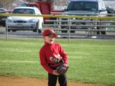 Marc's 1st tee ball game