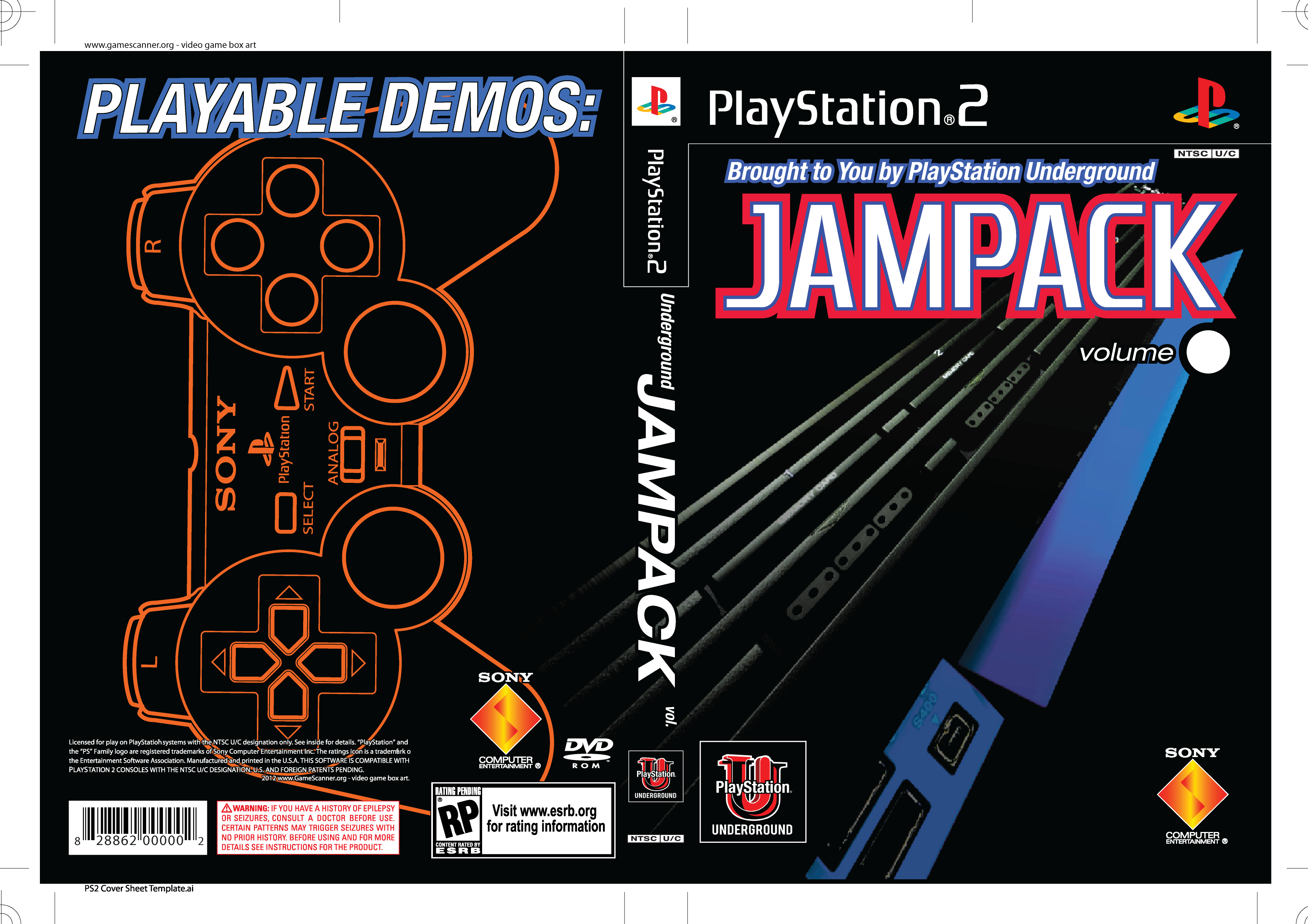 Photo 473 of 758 playstation 2 playstation 2 jampack with print overlay maxwellsz