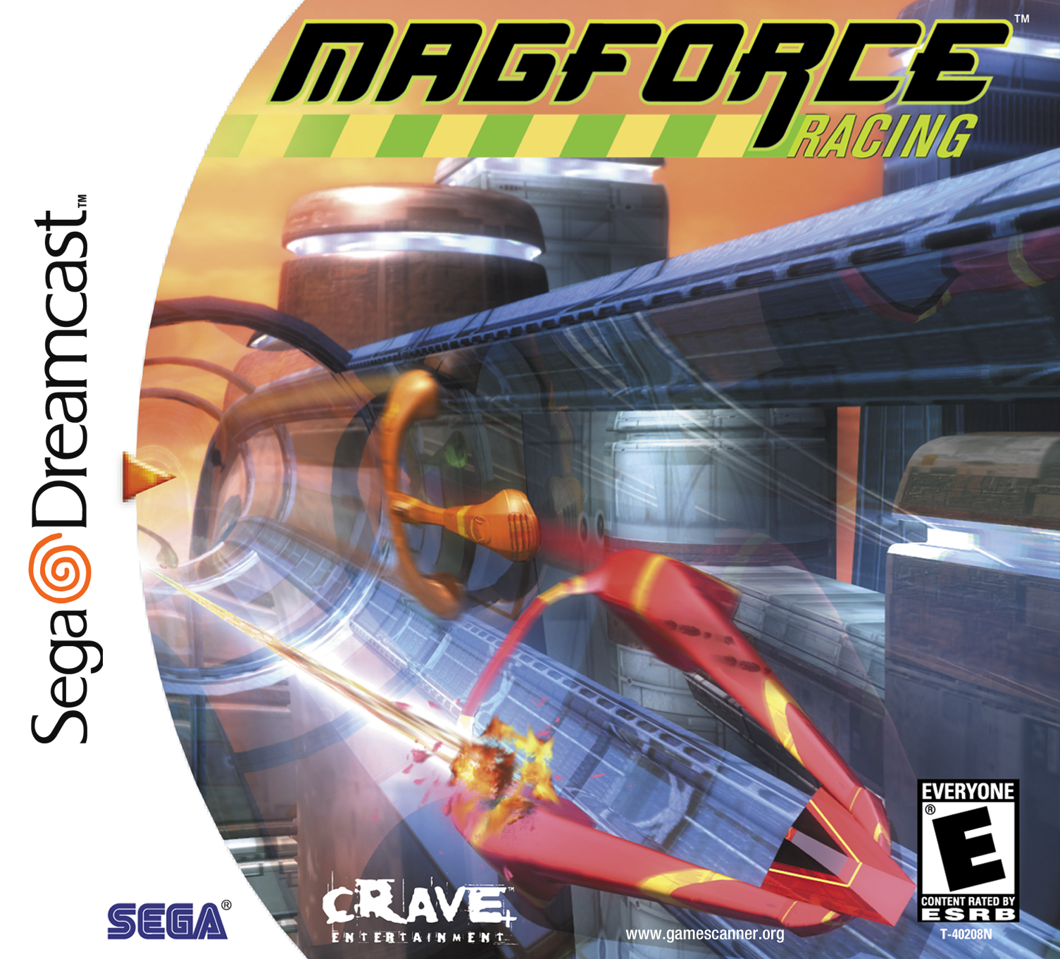 Mag Force Racing Box Art