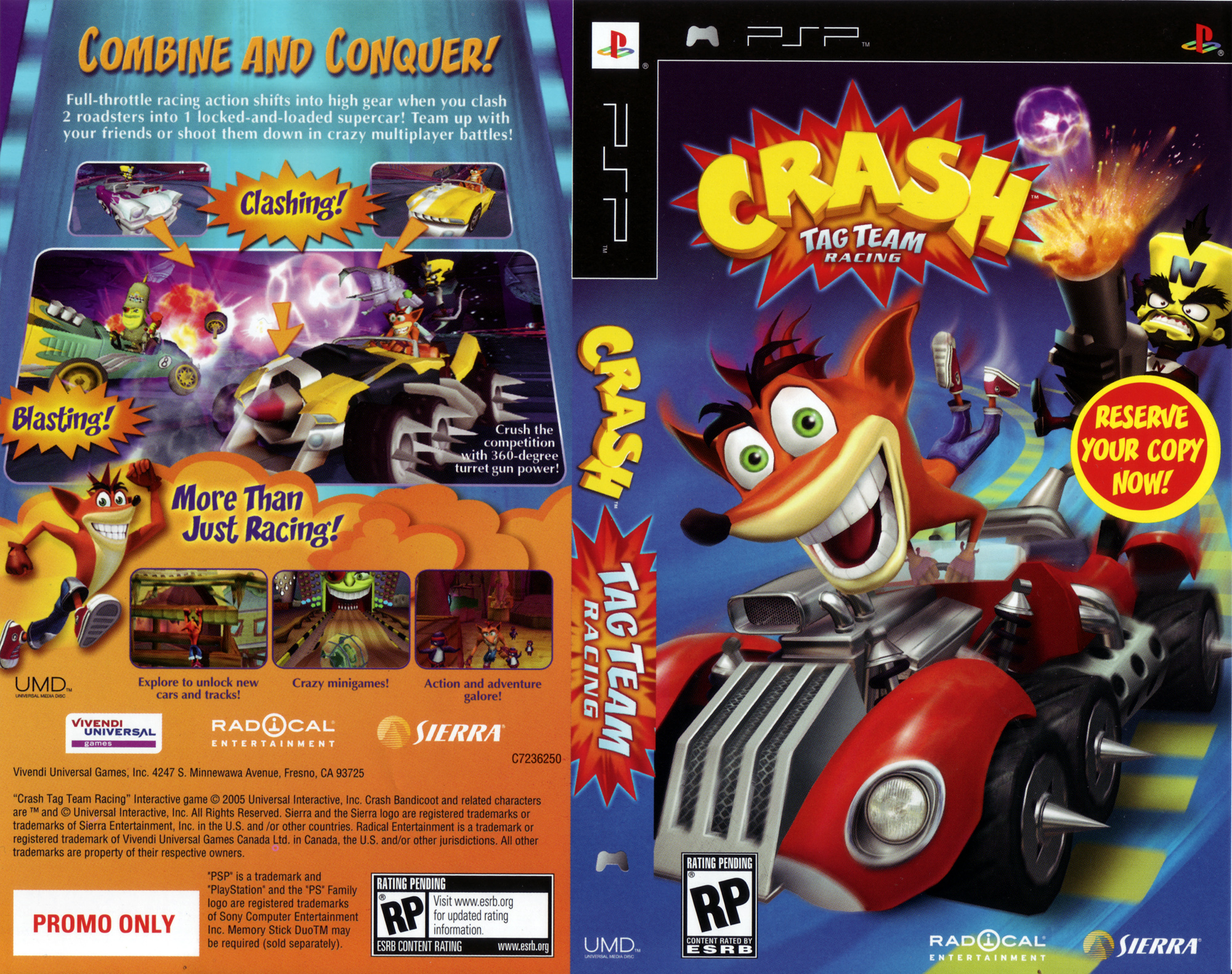 Crash Tag Team Racing Iso Psp - museummanager