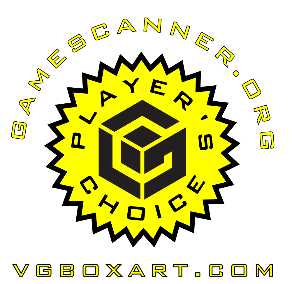 Nintendo GameCube Player's Choice Custom Badge by gamescanner.org