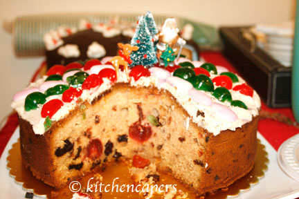 Western Dried Fruit Cake No Sugar