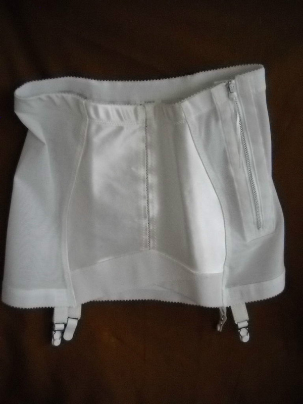 Vintage Crown Firm Control Open Bottom Girdle With Side