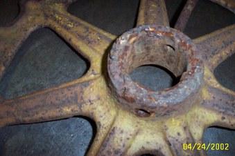 terratrac sprocket repair