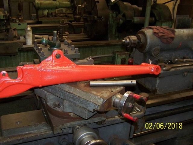 Tractor Repair Arm Level : Lift arm repair for acg yesterday s tractors