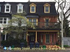 G 70 Beverley Street, across from Grange