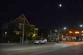 Queen Street Night West of Carlaw