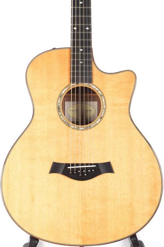 2011 taylor gt 8 baritone 8 string acoustic electric guitar ebay. Black Bedroom Furniture Sets. Home Design Ideas