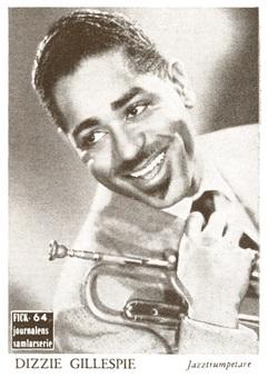 1953 Fick Journalen Entertainer Cards