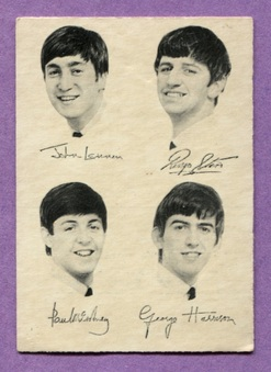 1965 A&BC Beatles B&W Series 2 cards