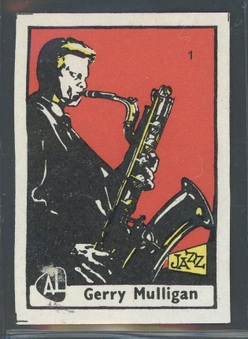 1964 Attema Lucimix Jazz Matchbox Labels