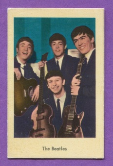1964 Lilla Beatles Serien Cards