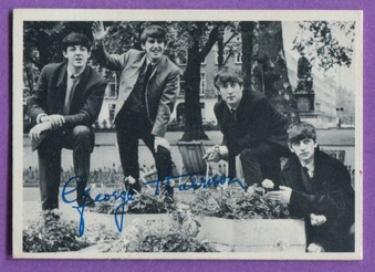 1964 Topps Beatles B&W 1st Series