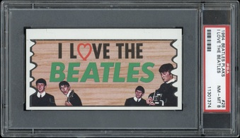1964 Topps Beatles Plaks