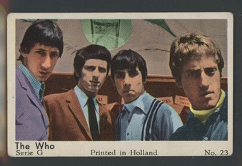 1965 Series G (Pop Music - Film Cards)