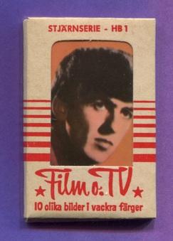 """1965 Sweden Filmstar """"HB"""" cards"""