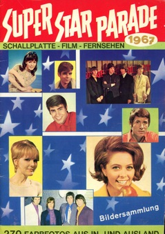 1967 Super Star Parade (pop/tv cards)