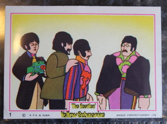 1968 Anglo Beatles Yellow Submarine