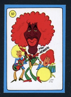 1972 Americana Pop Parade cards