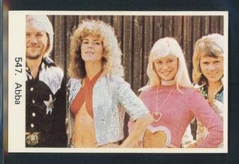 1974-1981 Swedish Pop and Film Cards