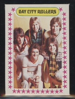 1975 Monty Bay City Rollers Stickers