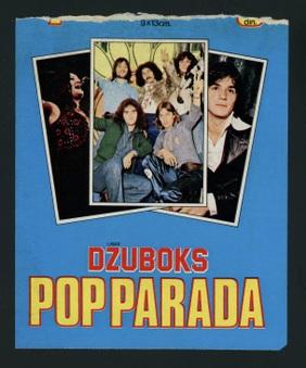 1975 Panini (Dzuboks) Pop Parada