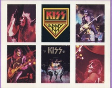 1976 KISS Army Cards