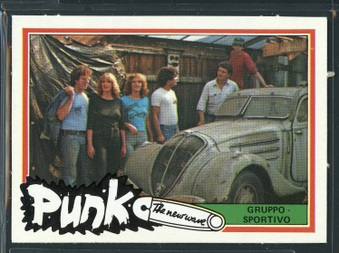 1977 Monty Punk Cards Set