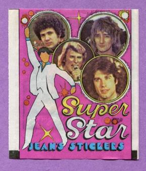 1978 Superstar Jean Stickers (Pop music)