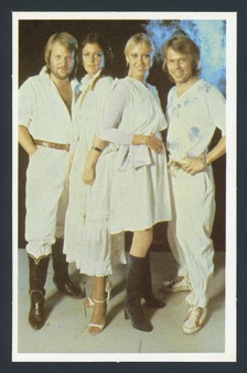 1980 Barratt Pop Stars Postcards