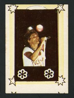 1980s Monty Gum Rod Stewart Cards