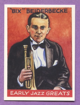 "1982 ""Early Jazz Greats"" cards"