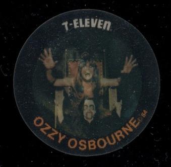 1984 7-11 Slurpee Pop Music Discs