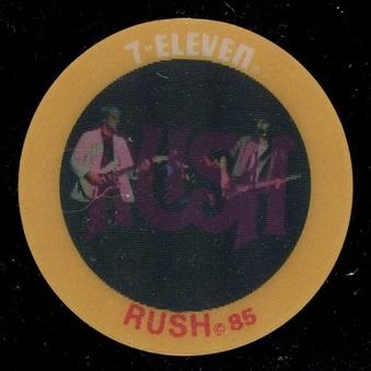 1985 7-11 Slurpee Pop Music Discs