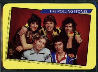 1985 Rock Stars - Concert Cards