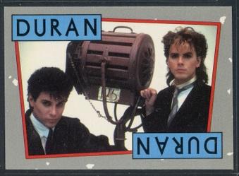 1985 Topps Duran Duran