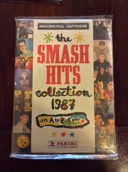 "1987 Panini ""Smash Hits Collection 1987"""