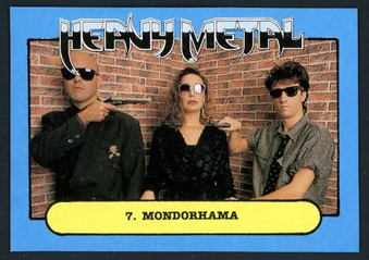 1988 Monty Gum Heavy Metal cards
