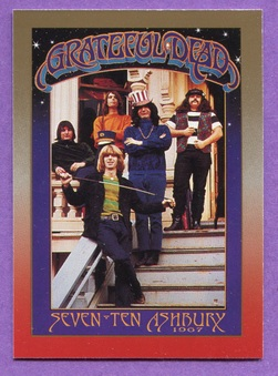 1991 Brockum Rockcards Grateful Dead