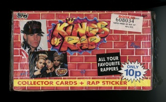 1991 Topps (Ireland) Kings of Rap
