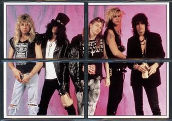Guns N' Roses Trading Cards