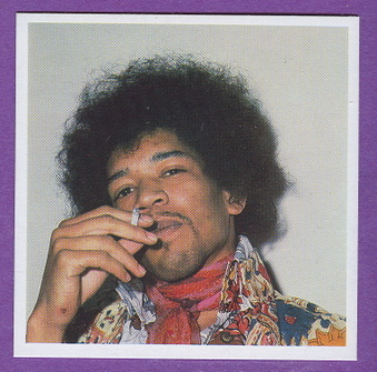 Jimi Hendrix cards