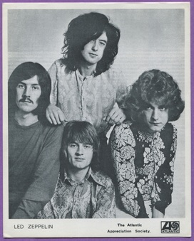 Led Zeppelin Cards