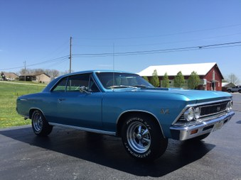 SOLD!  1966 Chevelle SS 396! Vin # 138!
