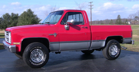 SOLD! 1986 Chevrolet Scottsdale 4x4 Pk! 